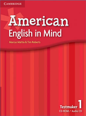 American English in Mind Level 1 Testmaker Audio CD and CD-ROM