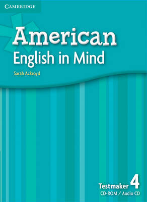 American English in Mind Level 4 Testmaker Audio CD and CD-ROM