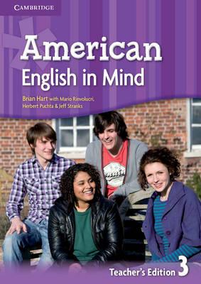 American English in Mind Level 3 Teacher's Edition (Spiral bound)