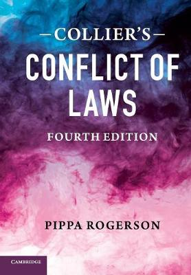 Collier's Conflict of Laws (Paperback)
