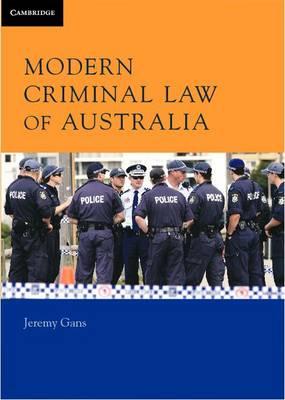 Modern Criminal Law of Australia (Paperback)