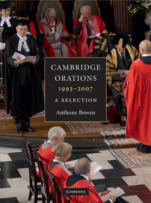 Cambridge Orations, 1993-2007: A Selection (Paperback)