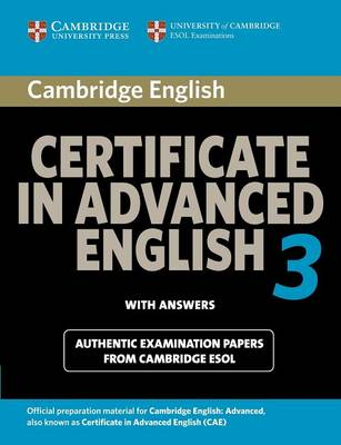 cambridge english advanced  Cambridge certificate in advanced English 3 for updated exam ...