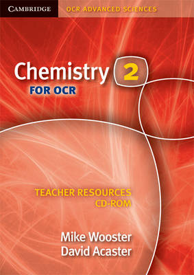 Chemistry 2 for OCR Teacher Resources CD-ROM - Cambridge OCR Advanced Sciences (CD-ROM)