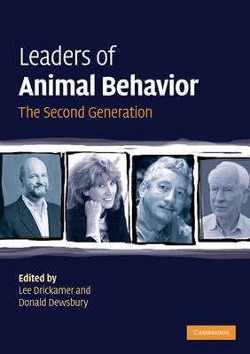 Leaders in Animal Behavior: The Second Generation (Paperback)