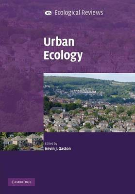 Urban Ecology - Ecological Reviews (Paperback)