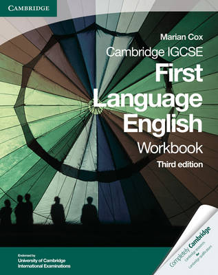 Cambridge IGCSE First Language English Workbook - Cambridge International IGCSE (Paperback)