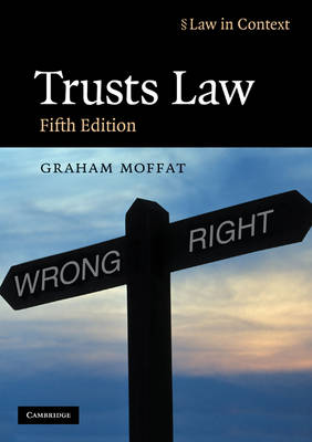 Trusts Law: Text and Materials - Law in Context (Paperback)