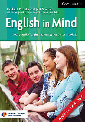 English in Mind Level 2 Student's Book with Exam Sections and CD-ROM Polish Exam Edition