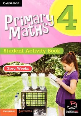 Primary Maths Student Activity Book 4 - Cambridge Primary Maths Australia (Paperback)