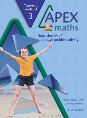 Apex Maths 3 Teacher's Handbook: Extension for all through Problem Solving - Apex Maths (Paperback)