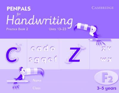 Penpals for Handwriting Foundation 2 Practice Book 2 (Pack of 10) - Penpals for Handwriting
