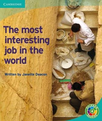 The Most Interesting Job in the World: Archaeology - Rainbow Reading Archeology (Paperback)