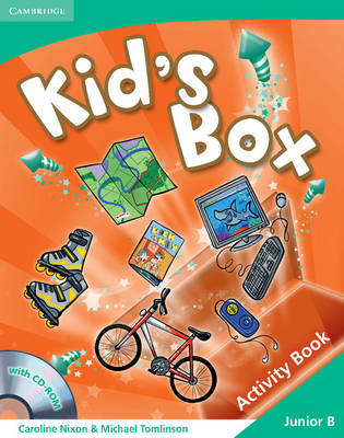 Kid's Box Junior B Activity Book with CD-ROM Greek Edition