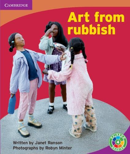 Art From Rubbish: Rubbish - Rainbow Reading Rubbish (Paperback)