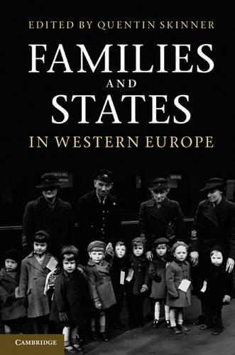 Families and States in Western Europe (Hardback)