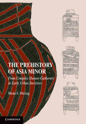 The Prehistory of Asia Minor: From Complex Hunter-Gatherers to Early Urban Societies (Hardback)