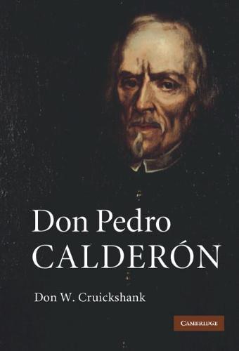 Don Pedro Calderon (Hardback)