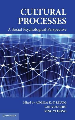 Cultural Processes: A Social Psychological Perspective - Culture and Psychology (Hardback)