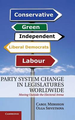 Party System Change in Legislatures Worldwide: Moving Outside the Electoral Arena (Hardback)