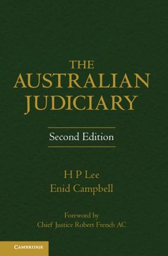 The Australian Judiciary (Hardback)
