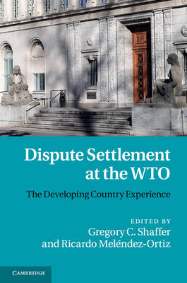 Dispute Settlement at the WTO: The Developing Country Experience (Hardback)