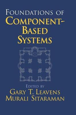 Foundations of Component-Based Systems (Hardback)