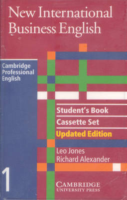 New International Business English Updated Edition Student's Book and Audio Cassette Set (3 Cassettes)