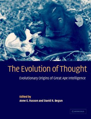 The Evolution of Thought: Evolutionary Origins of Great Ape Intelligence (Hardback)