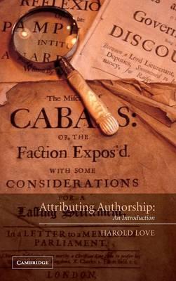 Attributing Authorship: An Introduction (Hardback)