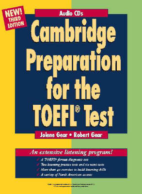 Cambridge Preparation for the TOEFL Test Audio CDs (CD-Audio)