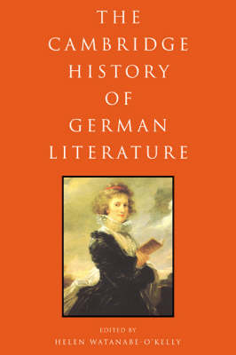 The Cambridge History of German Literature (Paperback)