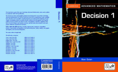 Discrete Mathematics: v. 1 - Cambridge Advanced Level Mathematics for OCR (Paperback)