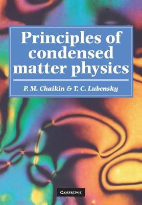 Principles of Condensed Matter Physics (Paperback)