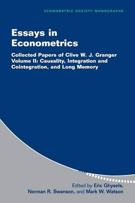 Essays in Econometrics: Collected Papers of Clive W. J. Granger - Essays in Econometrics 2 Volume Paperback Set 33 (Paperback)
