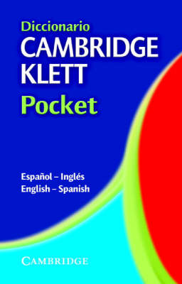 Diccionario Cambridge Klett Pocket Espanol-Ingles/English-Spanish (Paperback)