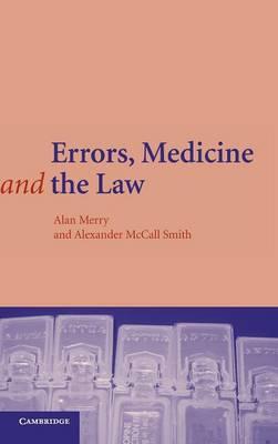 Errors, Medicine and the Law (Hardback)