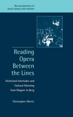 Reading Opera between the Lines: Orchestral Interludes and Cultural Meaning from Wagner to Berg - New Perspectives in Music History and Criticism 8 (Hardback)