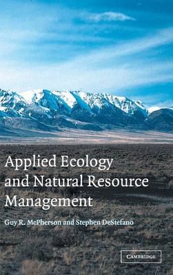 Applied Ecology and Natural Resource Management (Hardback)