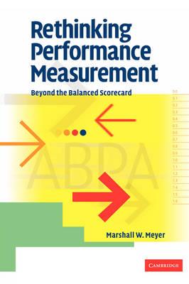 Rethinking Performance Measurement: Beyond the Balanced Scorecard (Hardback)