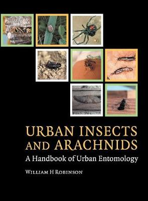 Urban Insects and Arachnids: A Handbook of Urban Entomology (Hardback)