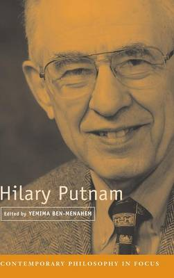 Hilary Putnam - Contemporary Philosophy in Focus (Hardback)