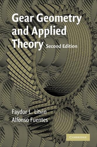 Gear Geometry and Applied Theory (Hardback)