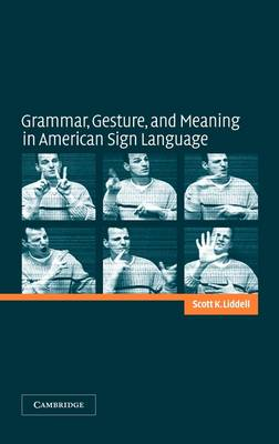 Grammar, Gesture, and Meaning in American Sign Language (Hardback)