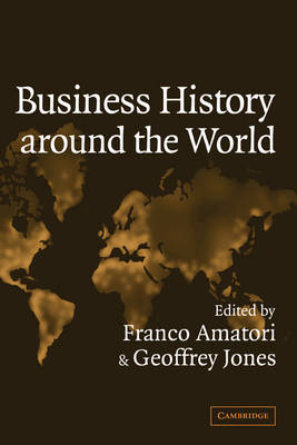 Business History around the World - Comparative Perspectives in Business History (Hardback)