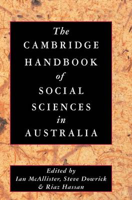 The Cambridge Handbook of Social Sciences in Australia (Hardback)