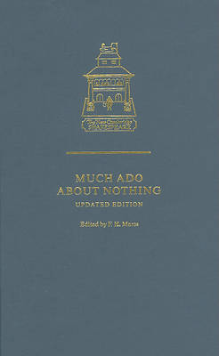 Much Ado about Nothing - The New Cambridge Shakespeare (Hardback)