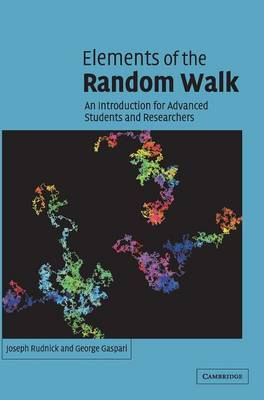 Elements of the Random Walk: An introduction for Advanced Students and Researchers (Hardback)