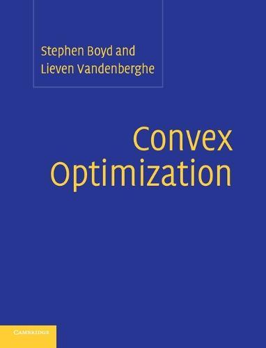 Convex Optimization (Hardback)