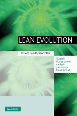 Lean Evolution: Lessons from the Workplace (Hardback)